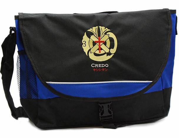 Credo of Japan, Embroidered Messenger Bag