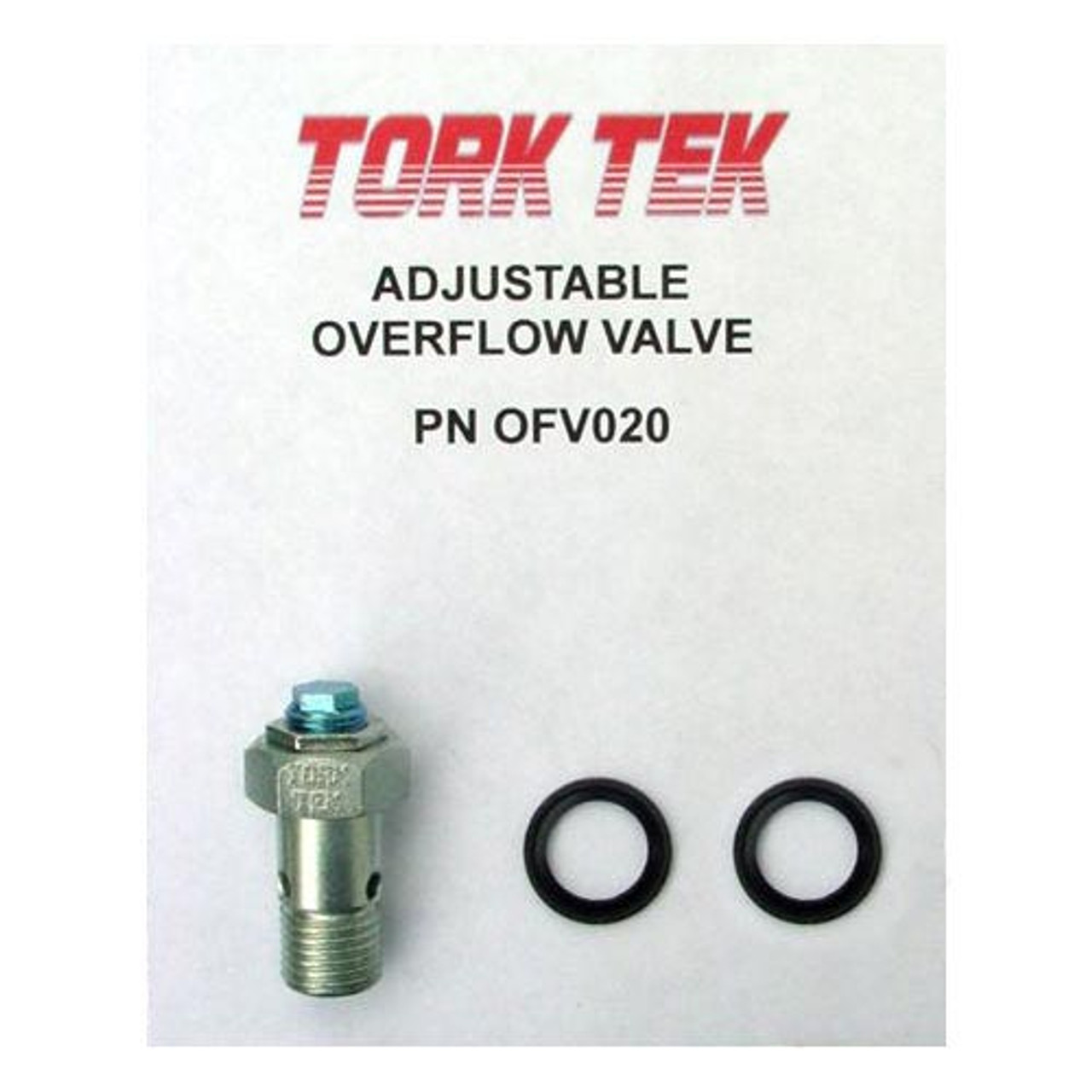 Tork Teknology P7100 High Performance Overflow Valve OFV060HP