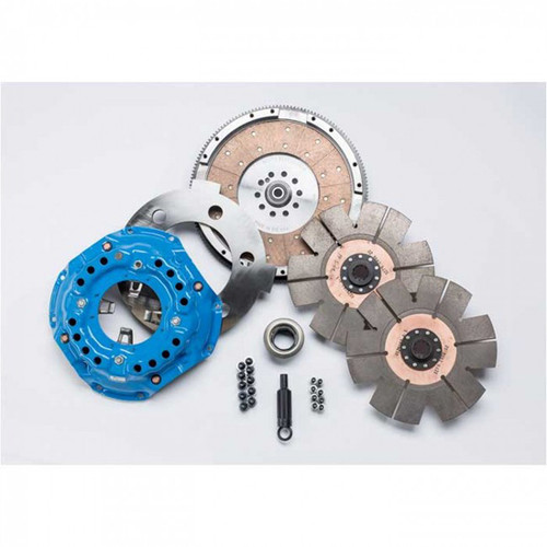 South Bend Clutch Competition Double Disc 850HP Kit 5-Speed For Ford Powerstroke 7.3L 1994.5-1998