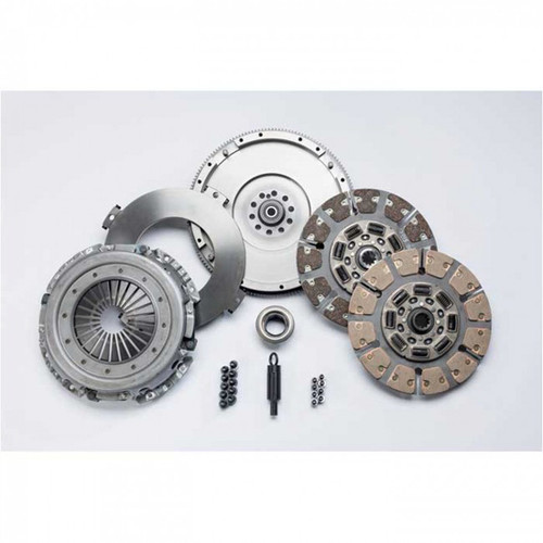 South Bend Clutch Street Dual Disc 550-750HP Kit with Flywheel 5-Speed For Ford Powerstroke 7.3L 1994.5-1998