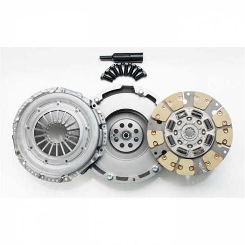 South Bend Clutch Single Kevlar 425HP Kit with Flywheel For GM Duramax 6.6L LBZ 2005-2006