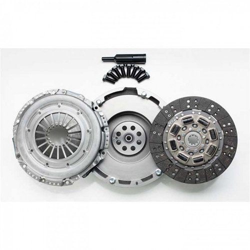 South Bend Clutch Single Organic 375HP Kit with Flywheel For GM Duramax 6.6L LBZ 2005-2006