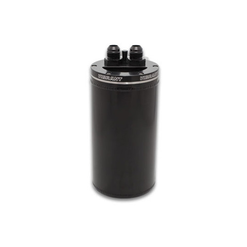 Vibrant Universal Oil Catch Can with Integrated Filter Top