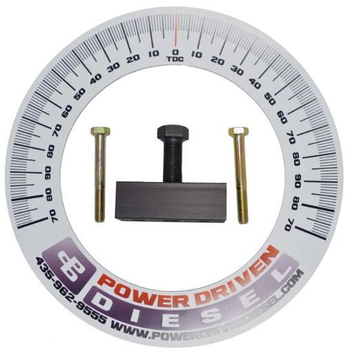 Power Driven Diesel P-Pump Timing Kit