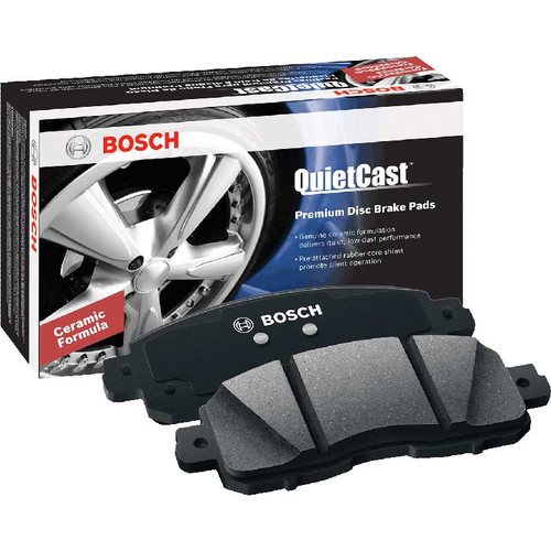 Bosch BC909 Quitcast Premium Rear Disc Brake Pads for 2001-2010 GM 4WD