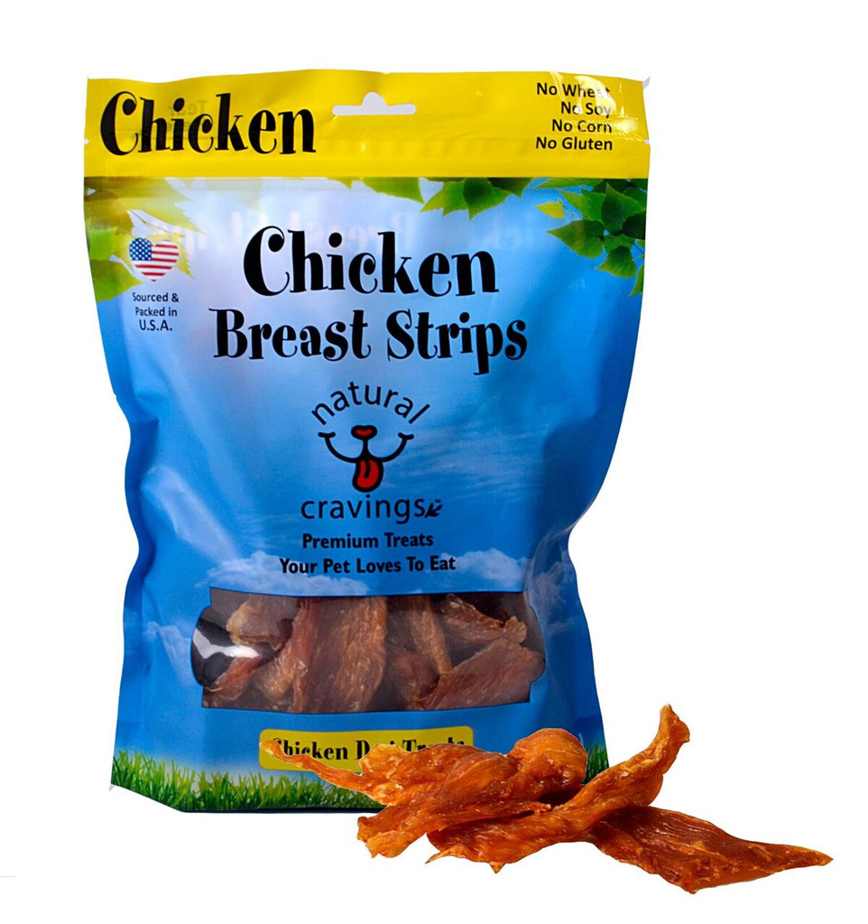 Our natural Chicken Breast Strips are hand trimmed and low in fat. They are slow roasted to perfection to maximize flavor. They taste and smell great!
