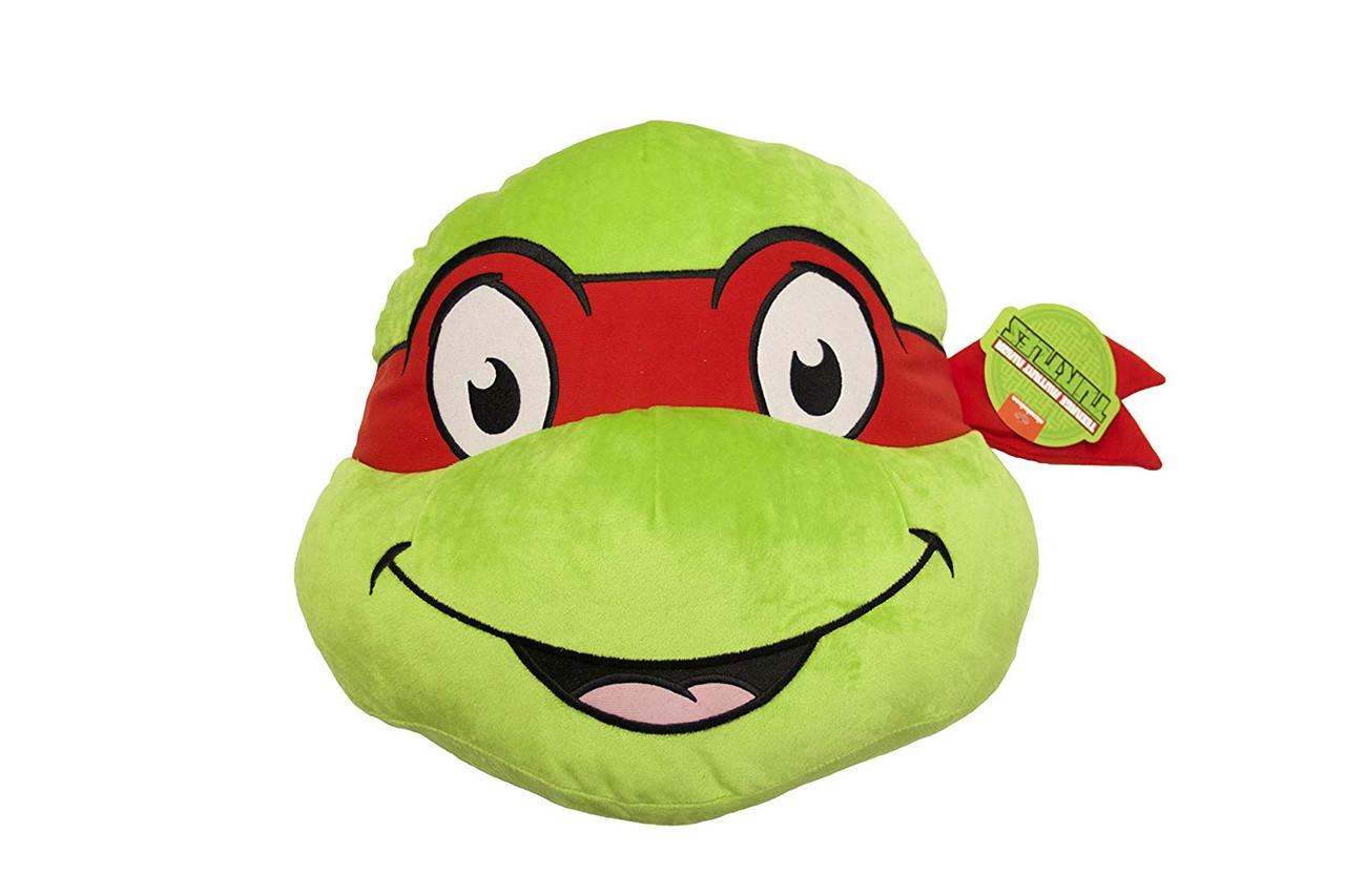 Teenage Mutant Ninja Turtles Raphael Face Pillow