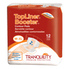 tranquility topliner booster contour pads