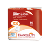 Tranquility SlimLine Disposable Briefs with Tabs, Heavy