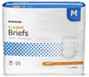 McKesson Classic Briefs with Tabs, Light