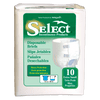 Select Disposable Briefs with Tabs, Heavy