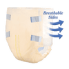 Select Soft N' Breathable Disposable Adult Diapers with Tabs, Heavy