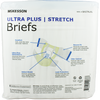 McKesson Ultra Plus Stretch Briefs with Tabs, Heavy