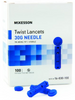 McKesson Twist Top Lancet Needle, 1.8 mm
