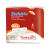 Tranquility Bariatric Disposable Briefs with Tabs, Maximum