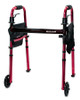 McKesson Aluminum Travel Walker with Wheels