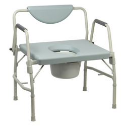 McKesson Commode Chair with Drop Arm