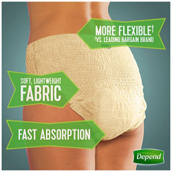 Depend Fit-Flex Underwear for Women - Maximum
