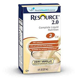 Resource 2.0 Oral Supplement - Very Vanilla
