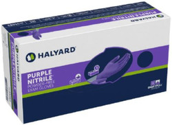 Halyard Nitrile Gloves - Chemo Tested - Purple