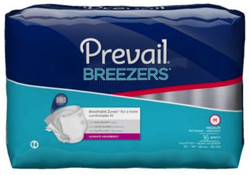 Prevail Breezers Diapers with Tabs - Heavy Absorbency