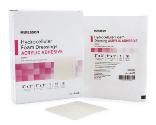 McKesson Foam Dressing