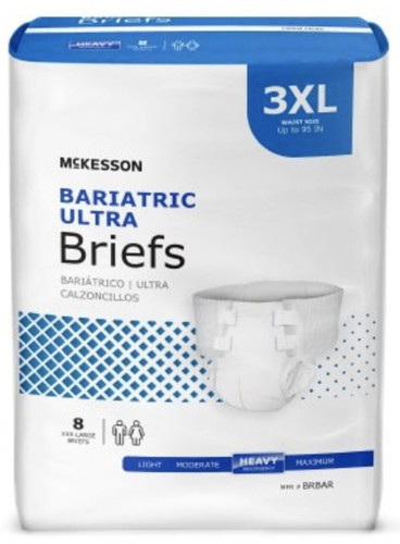 McKesson Bariatric Diapers with Tabs - Ultra