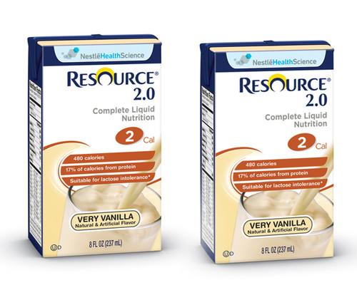 Resource 2.0 Oral Supplement - Very Vanilla