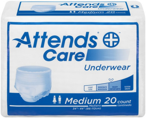 Attends Care Pull-Up Underwear, Moderate