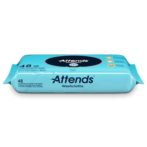 Attends Personal Wipes with Aloe, Scented