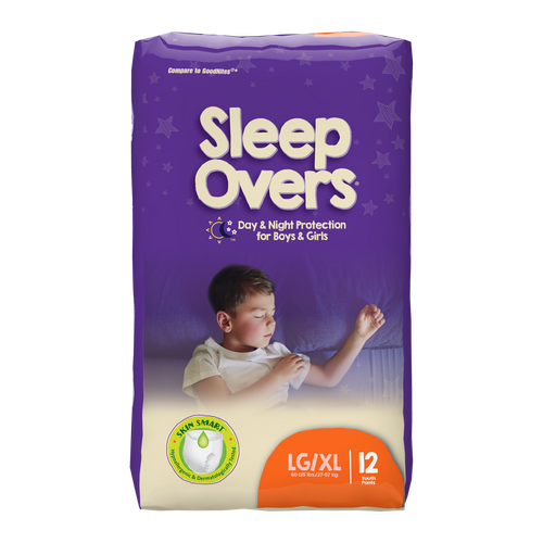 Sleepovers Youth Underwear Pull-Ups