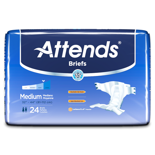 Attends Adult Diapers with Tabs, Heavy