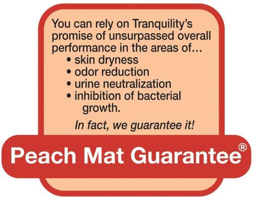 tranquility bariatric briefs peach mat