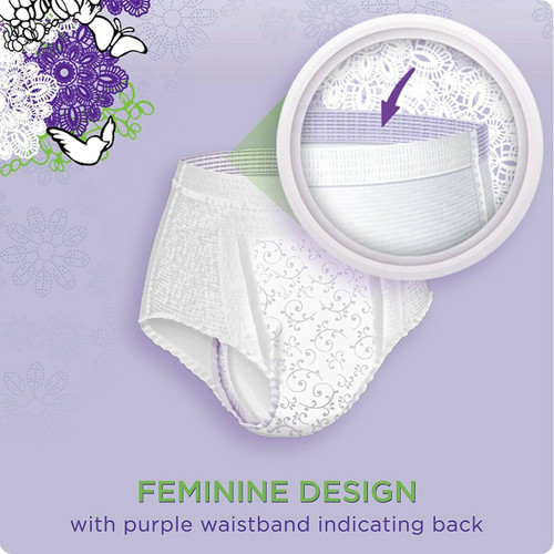 Always Discreet Pull-Up Underwear for Women, Maximum