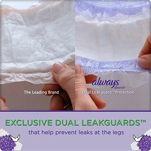 Always discreet underwear