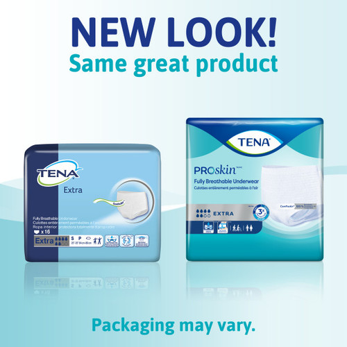 TENA Extra Protective Incontinence Underwear, Extra Absorbency