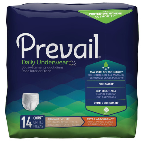 Prevail Pull-Up Underwear, Extra