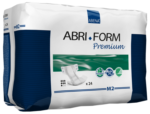 Abena Abri-Form Premium Adult Diapers with Tabs, M2