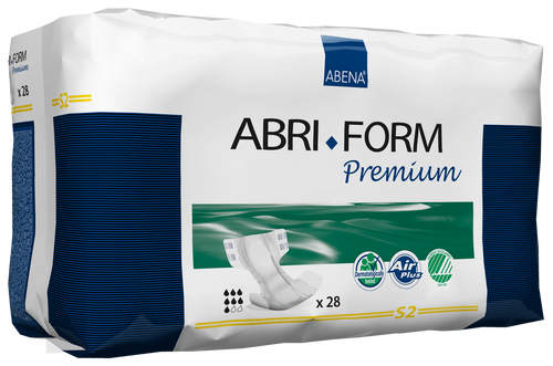 Abena Abri-Form Premium Diapers with Tabs, S2