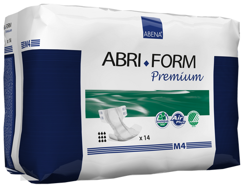Abena Abri-Form Premium Diapers with Tabs, M4