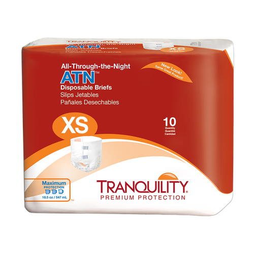 Tranquility ATN disposable briefs