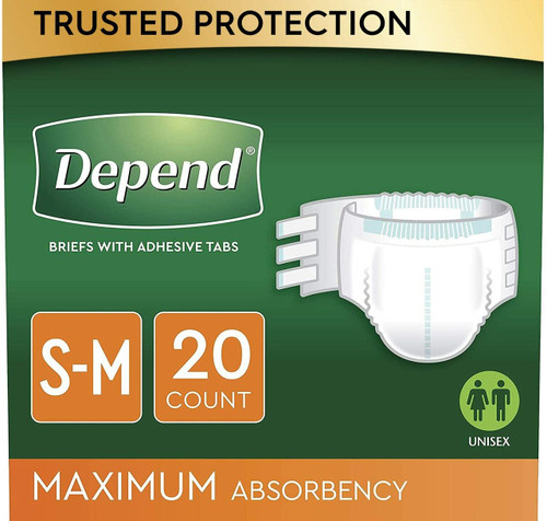 Depends diapers