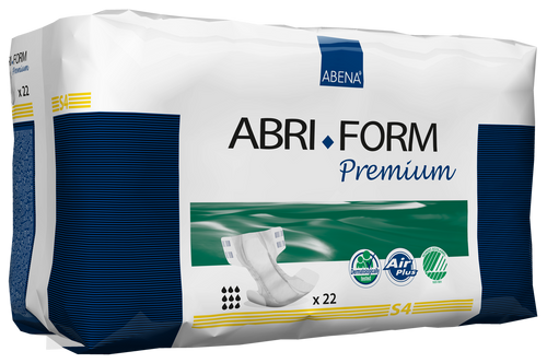 Abena Abri-Form Premium Diapers with Tabs, S4