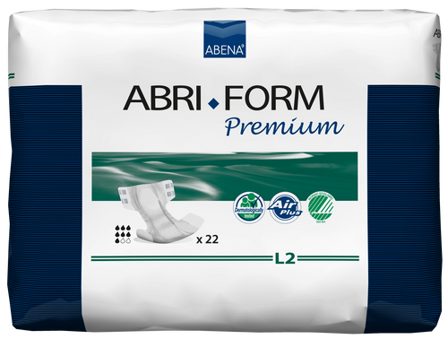 Abena Abri-Form Premium Adult Diapers with Tabs, L2