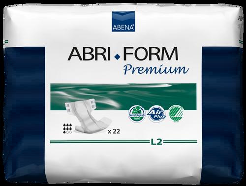 Abena Abri-Form Premium Diapers with Tabs, L2