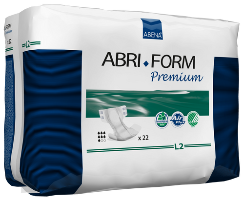 Abena Abri-Form Premium Diapers with Tabs, L2