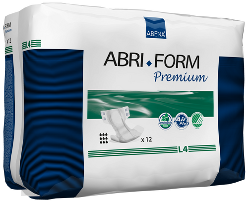 Abena Abri-Form Premium Adult Diapers with Tabs, L4