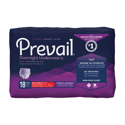 prevail women's overnight underwear