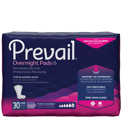 Prevail Pads, Overnight