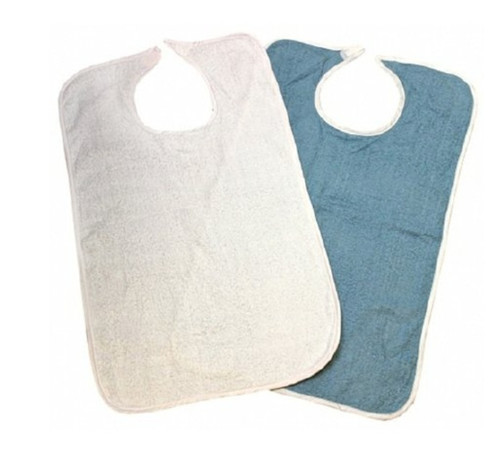 Beck's Reusable Adult Bib, Terry Cloth